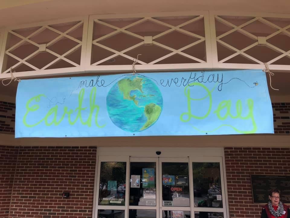 Earth Day program banner