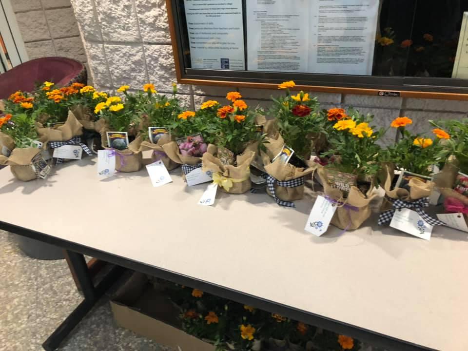 Earth Day program plants