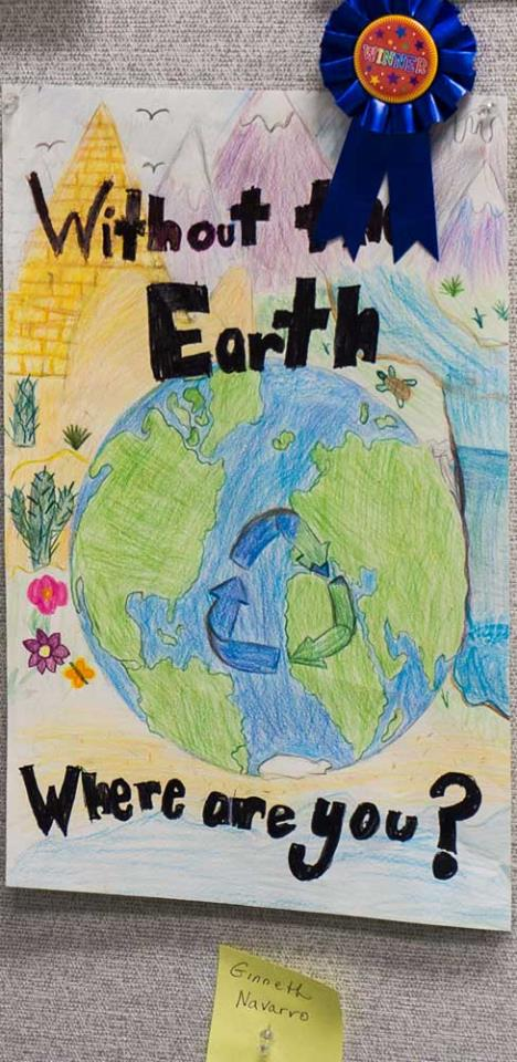 Earth Day Poster Contest entry
