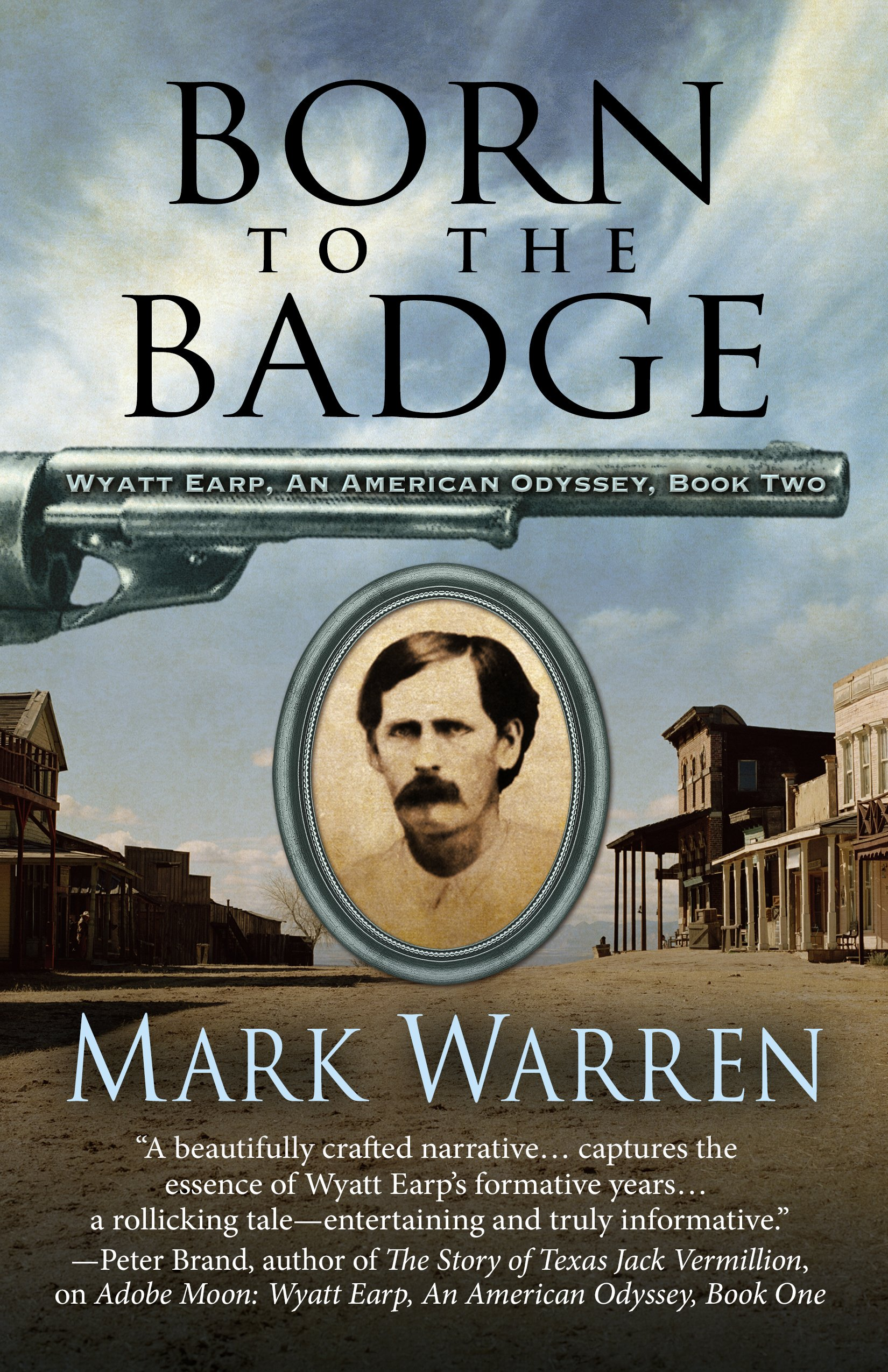 Cover of book titled Born to the Badge