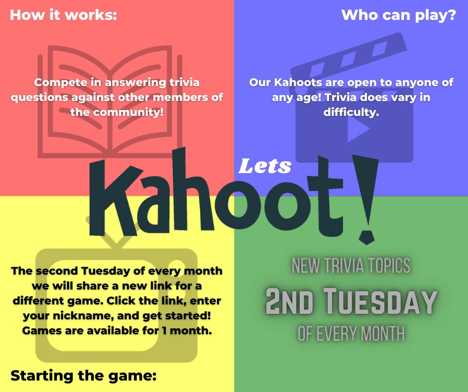 Kahoot Trivia info