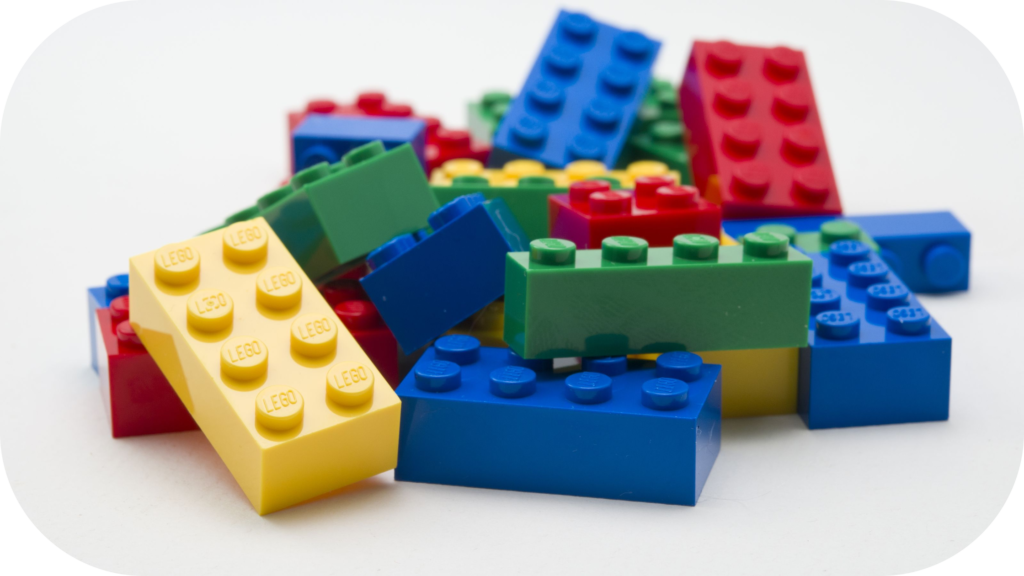Pile of Lego bricks