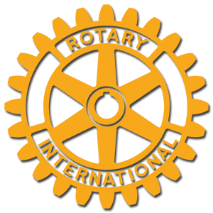 Rotary Club logo, gear