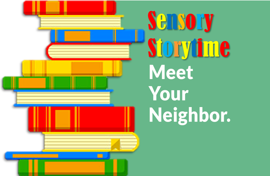 Banner for Sensory Storytime by ConnectAbility, Inc