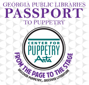 Logo for the Center for Puppetry Arts Library Pass