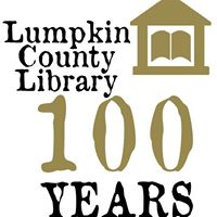 Logo for Lumpkin County Library's Centennial