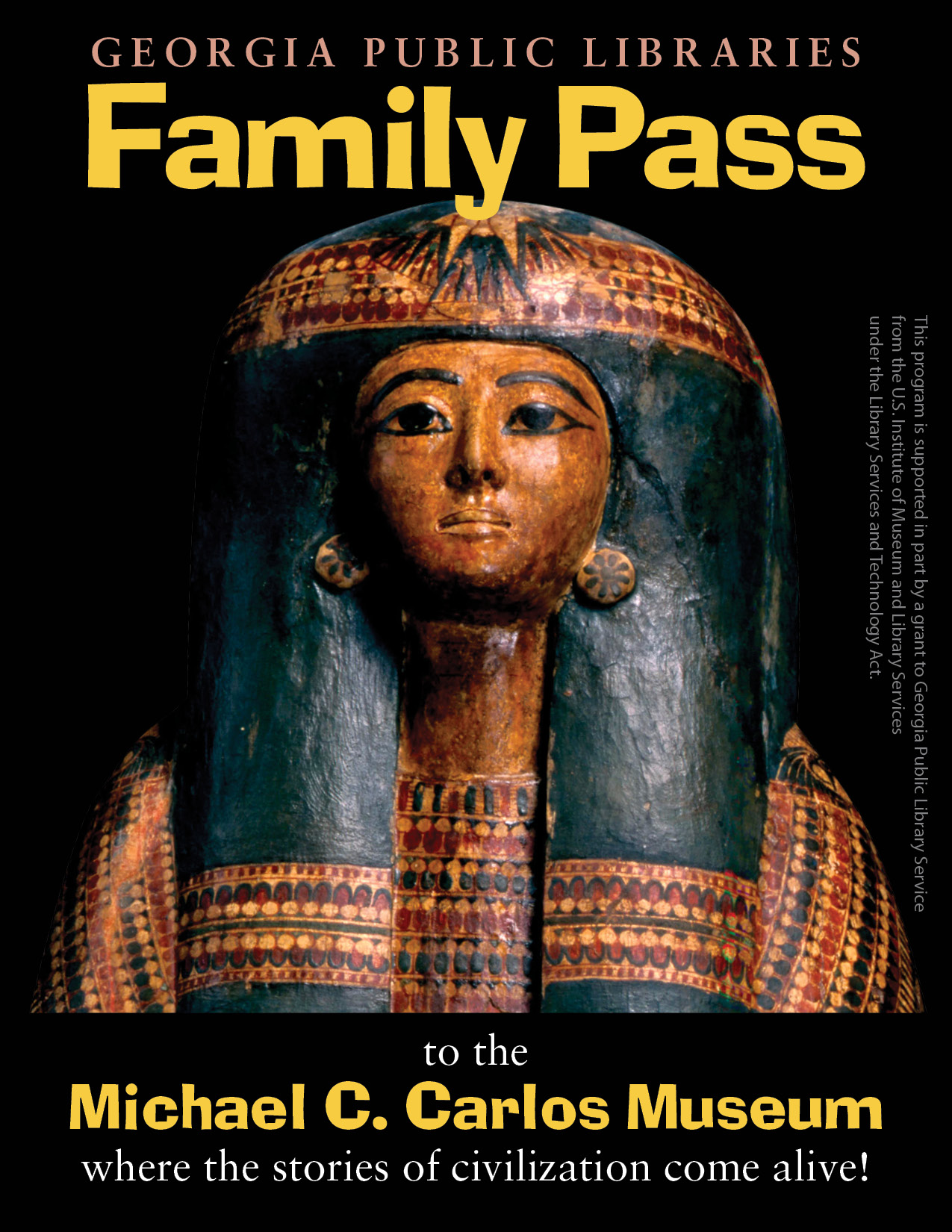 Logo for the Michael C. Carlos Museum family pass