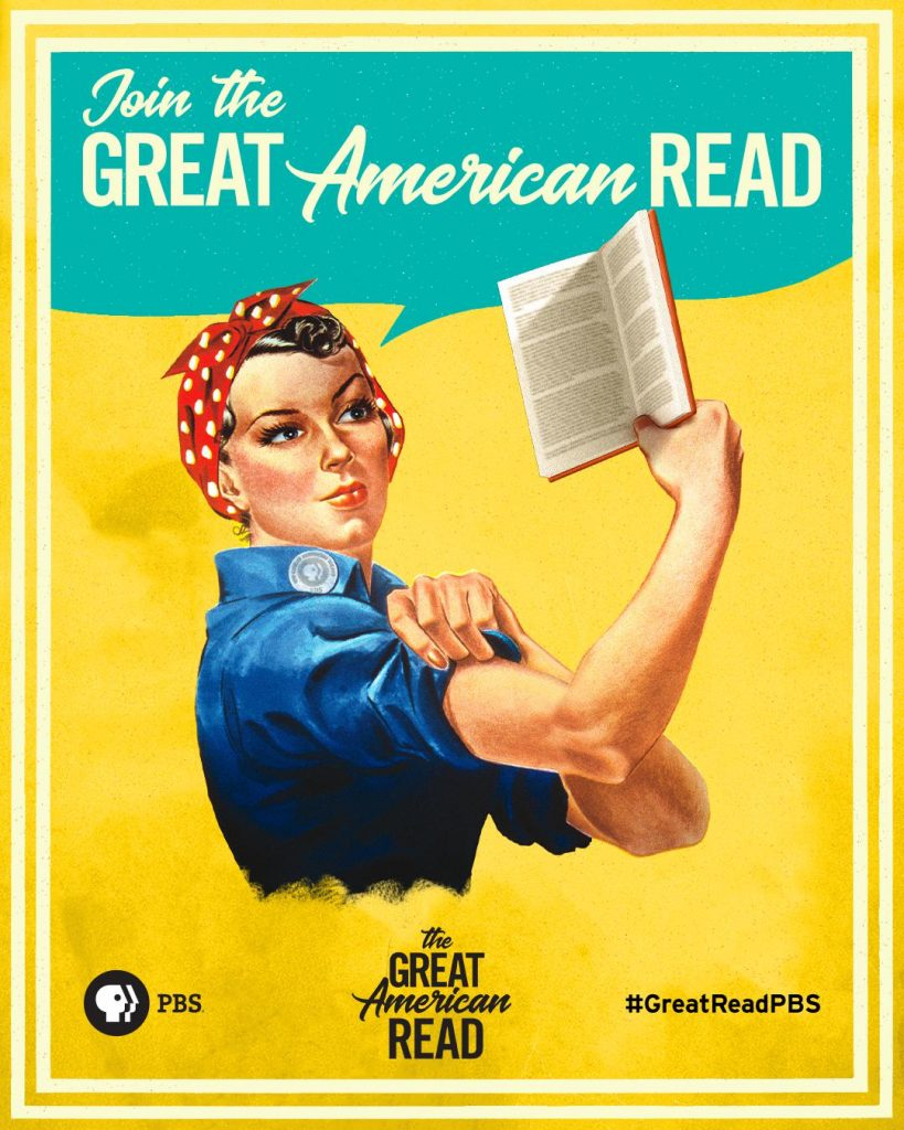Poster for The Great American Read on PBS